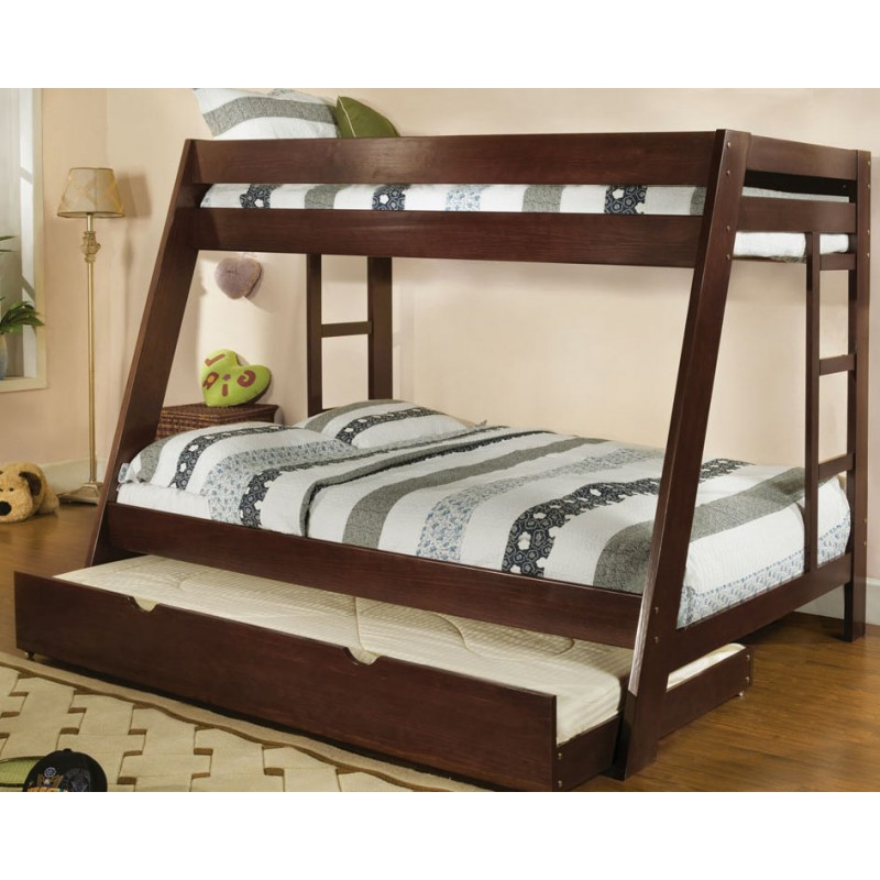 Image of: Twin Beds With Trundle Brown