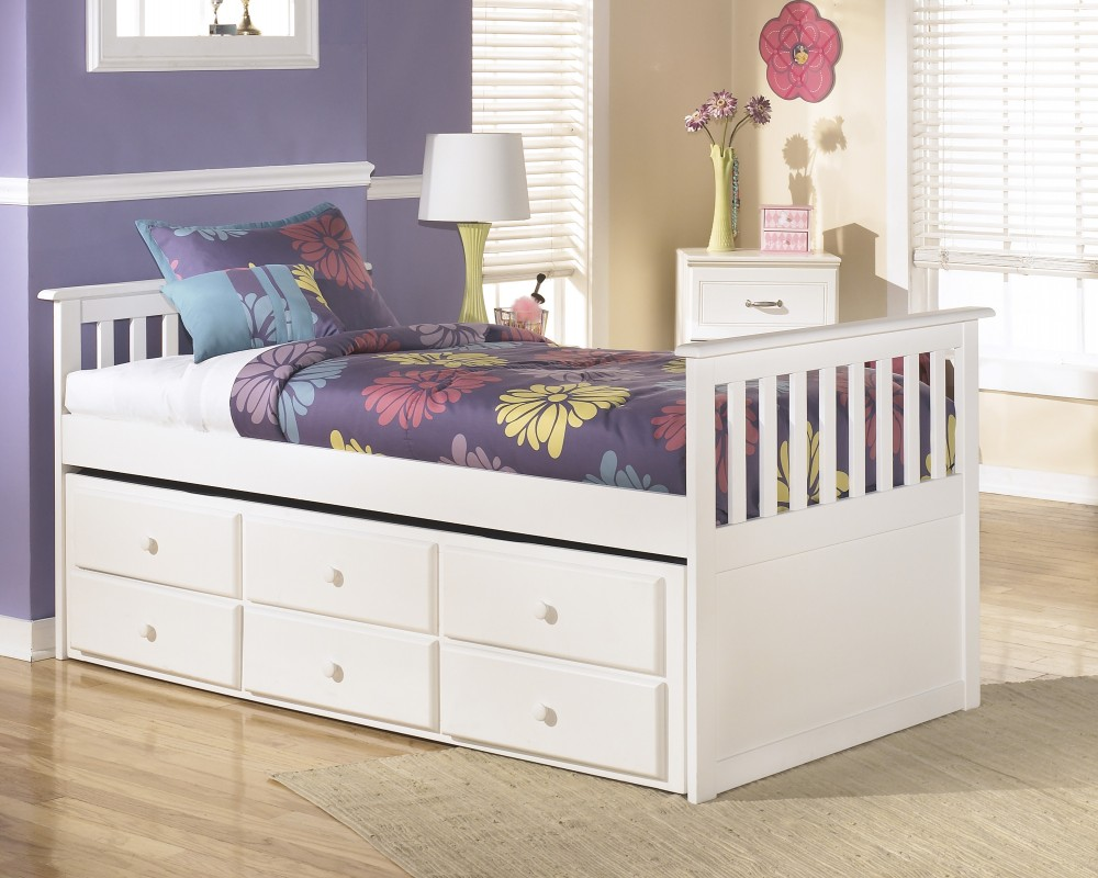 Image of: Twin Beds With Trundle Furniture