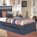 Twin Beds With Trundle Panel