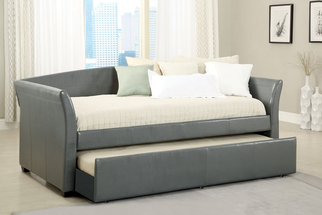 Image of: Twin Day Bed With Trundle