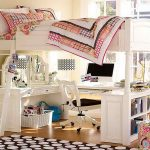 Twin Loft Bed with Desk Underneath