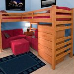 Twin Loft Beds with Desk Underneath