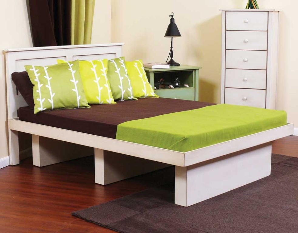 Image of: Twin Platform Beds for Adults