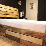 Twin Platform Beds with Storage Drawers