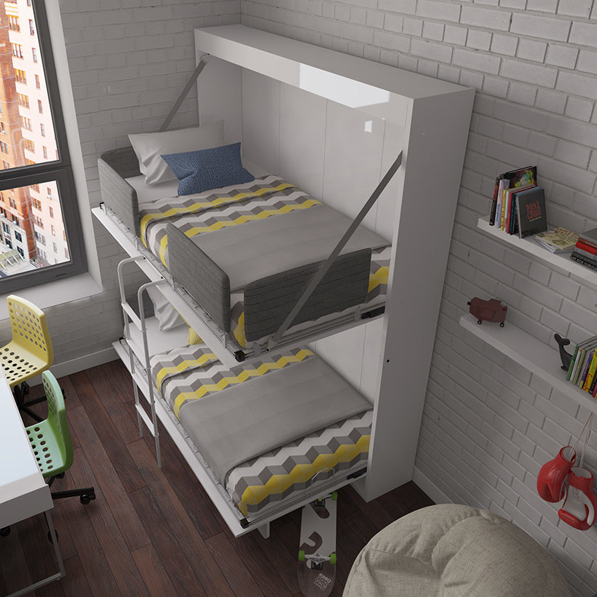 Image of: Twin Size Murphy Bed Model