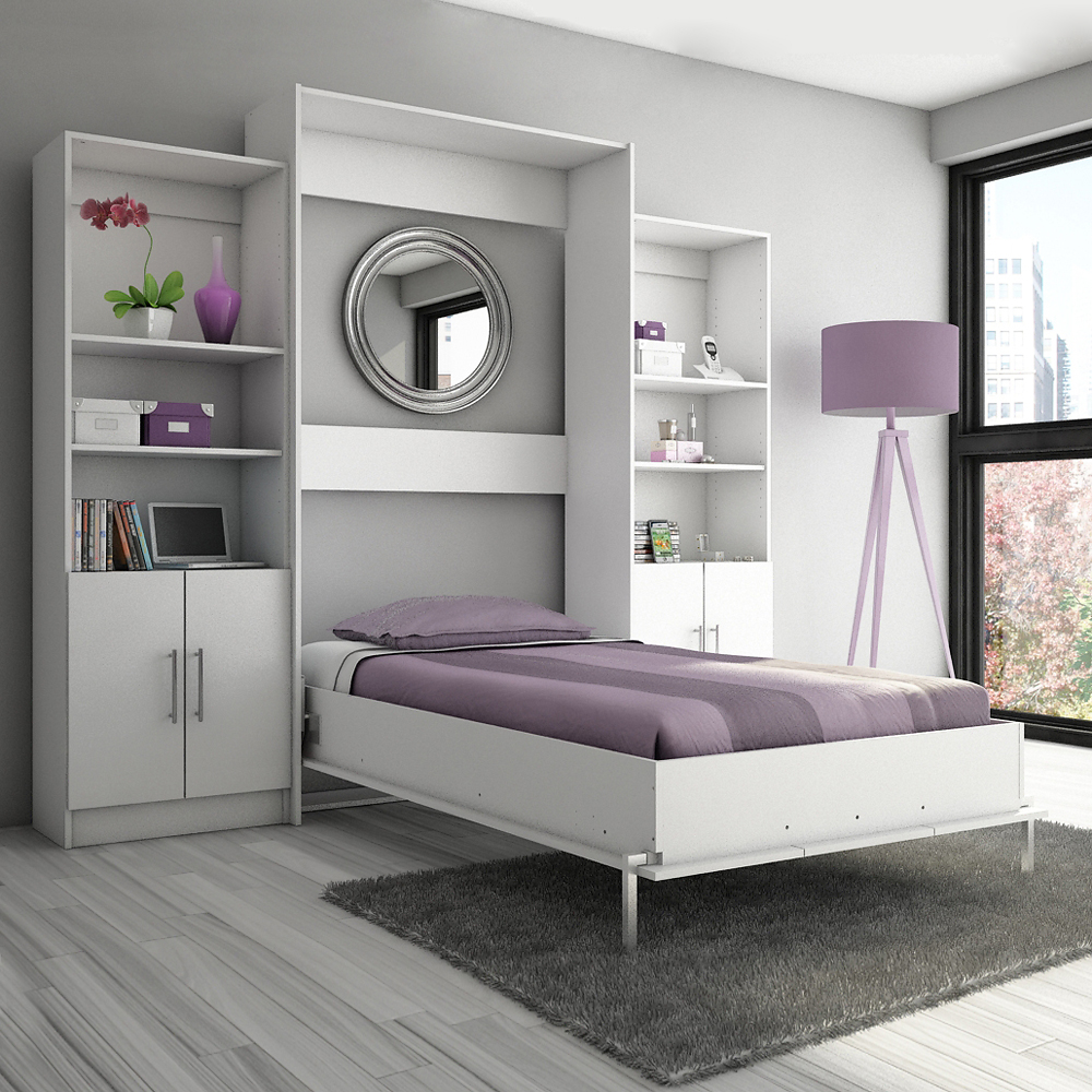 Image of: Twin Wall Bed Modern