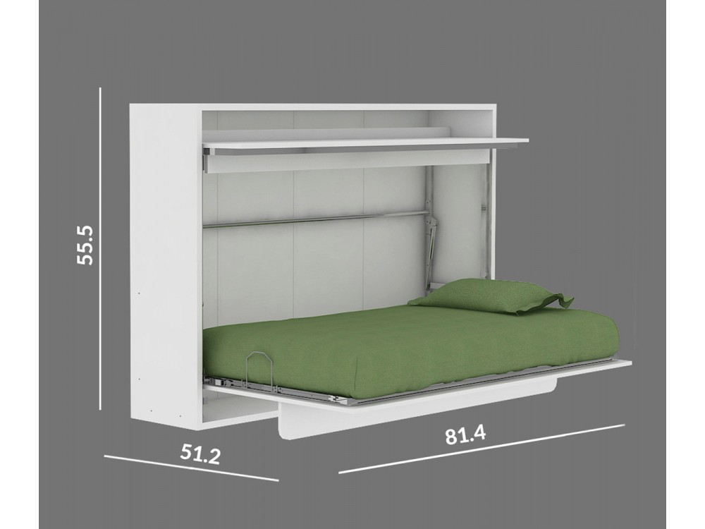 Image of: Twin Wall Bed Plans