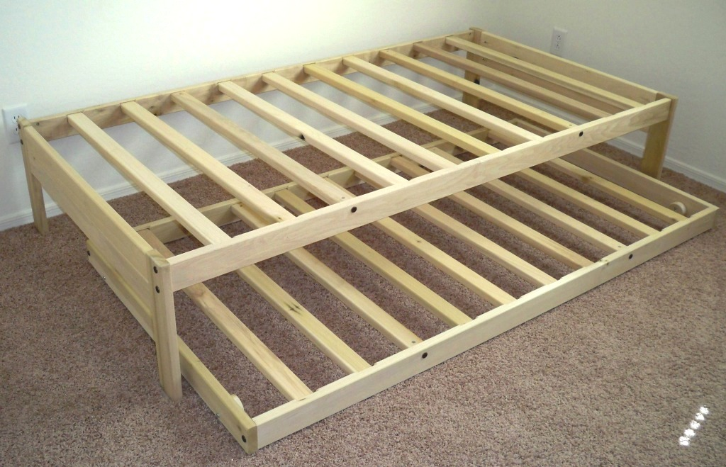 Image of: Twin XL Platform Bed Frame