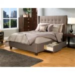 Upholstered Beds King Drawers