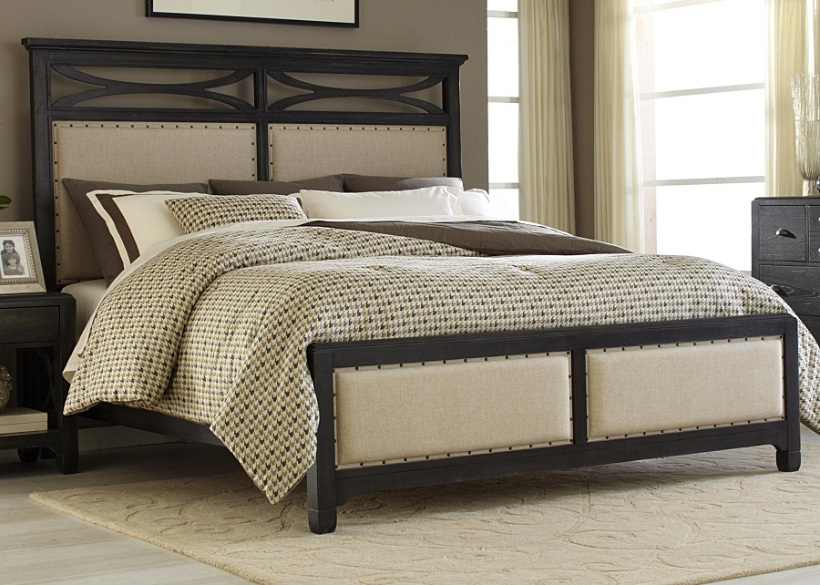 Image of: Upholstered Beds King Ideas