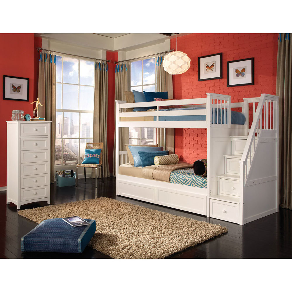 White Twin Beds For Boys