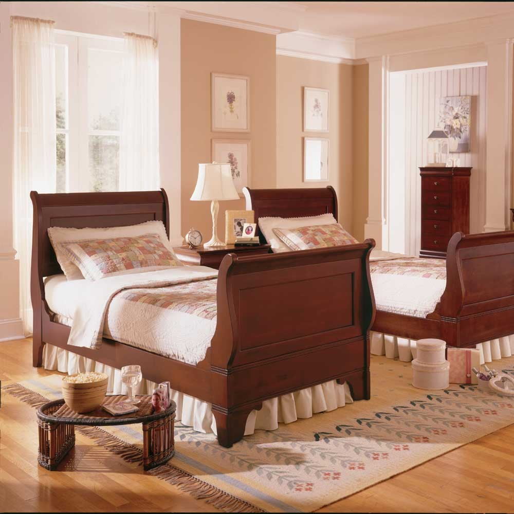 Wonderful Twin Sleigh Bed