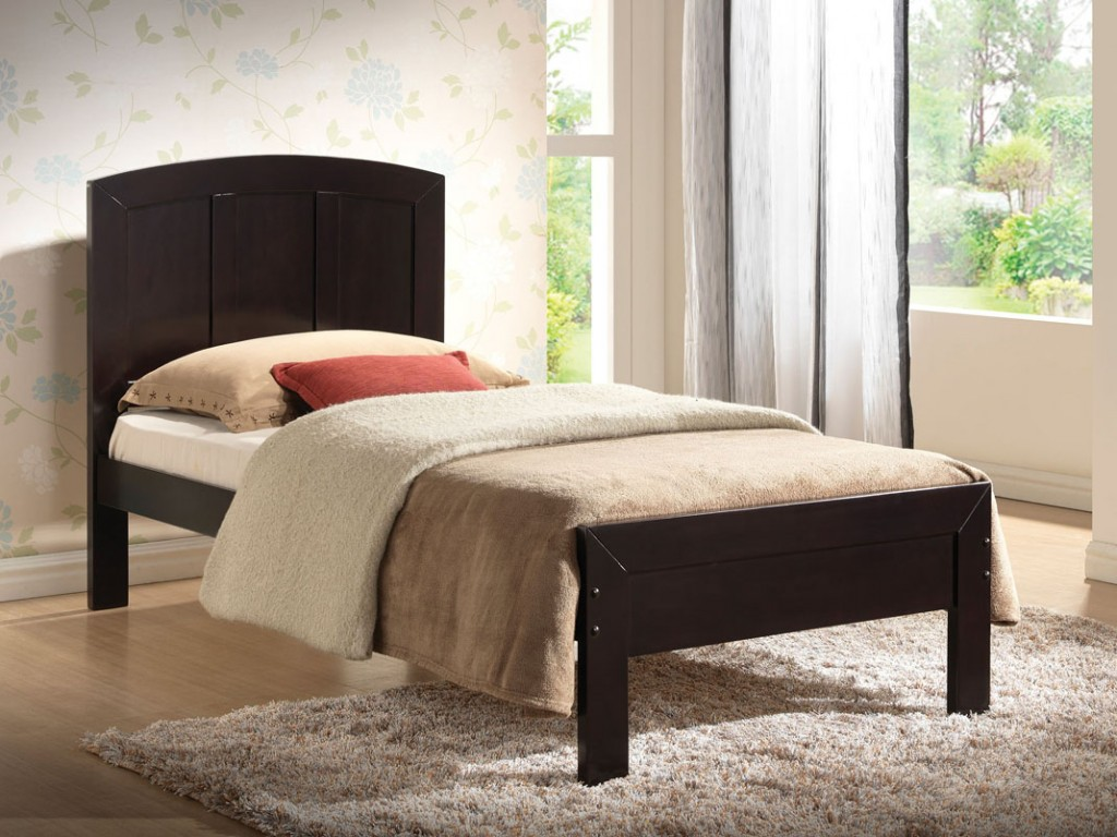 Image of: Wood Twin Bed Frame Ideas