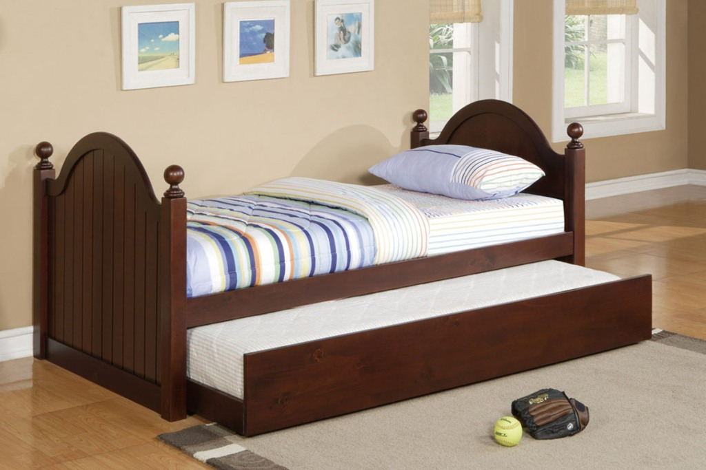 Image of: Wood Twin Bed Frame Image