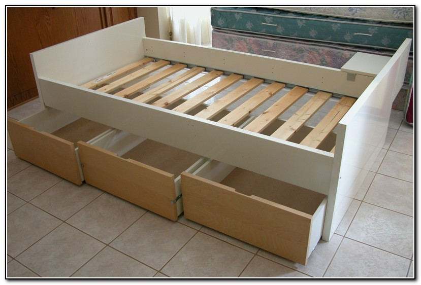 Image of: XL Twin Bed Frame