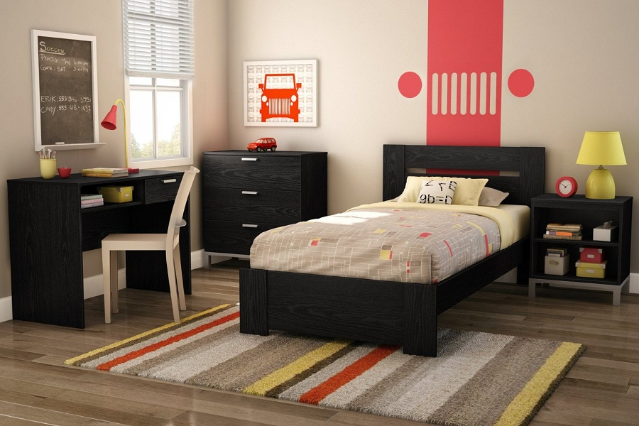 Image of: XL Twin Bed Paint