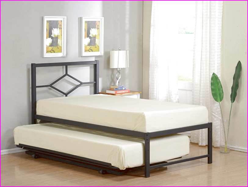Image of: XL Twin Bed Trundle