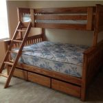 XL Twin Bed with Ladder