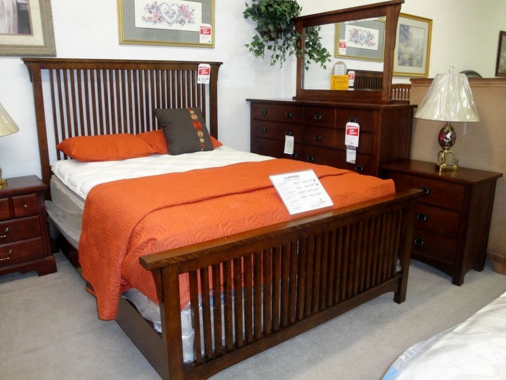 Image of: Free Mission Bedroom Furniture Plans