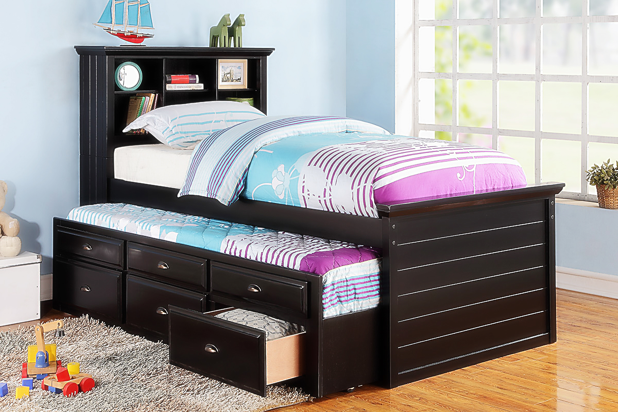 Image of: Beauty Trundle Beds For Kids
