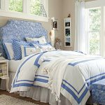 Blue Brown And White Bedroom Ideas