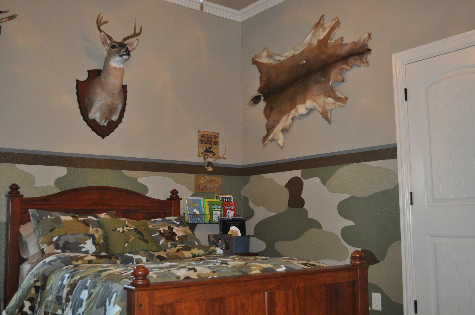Image of: The Camo Bedroom Design Ideas