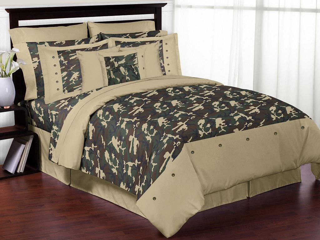 Image of: Elegant Camo Bedroom Ideas