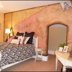 French Paris Themed Bedroom