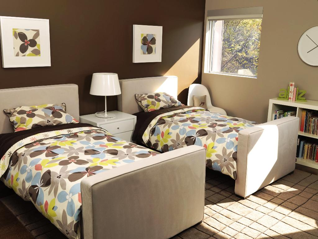 Image of: Fun Twin Beds For Toddlers