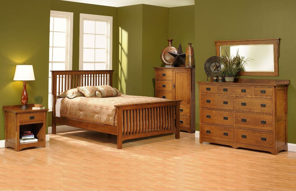 Image of: Mission Bedroom Furniture Sets
