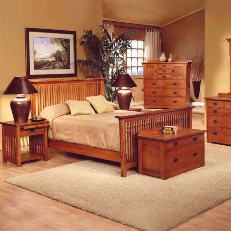 Image of: Mission Bedroom Furniture