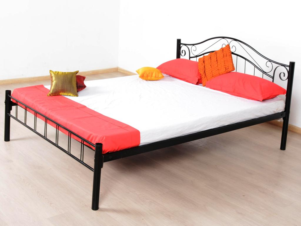 Image of: Queen Size Metal Bed Frame Instructions