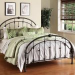 Queen Size Metal Bed Frame With Hooks