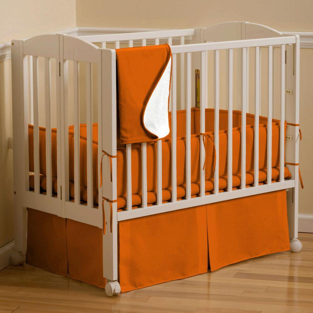 Solid Color Baby Boy Crib Bedding