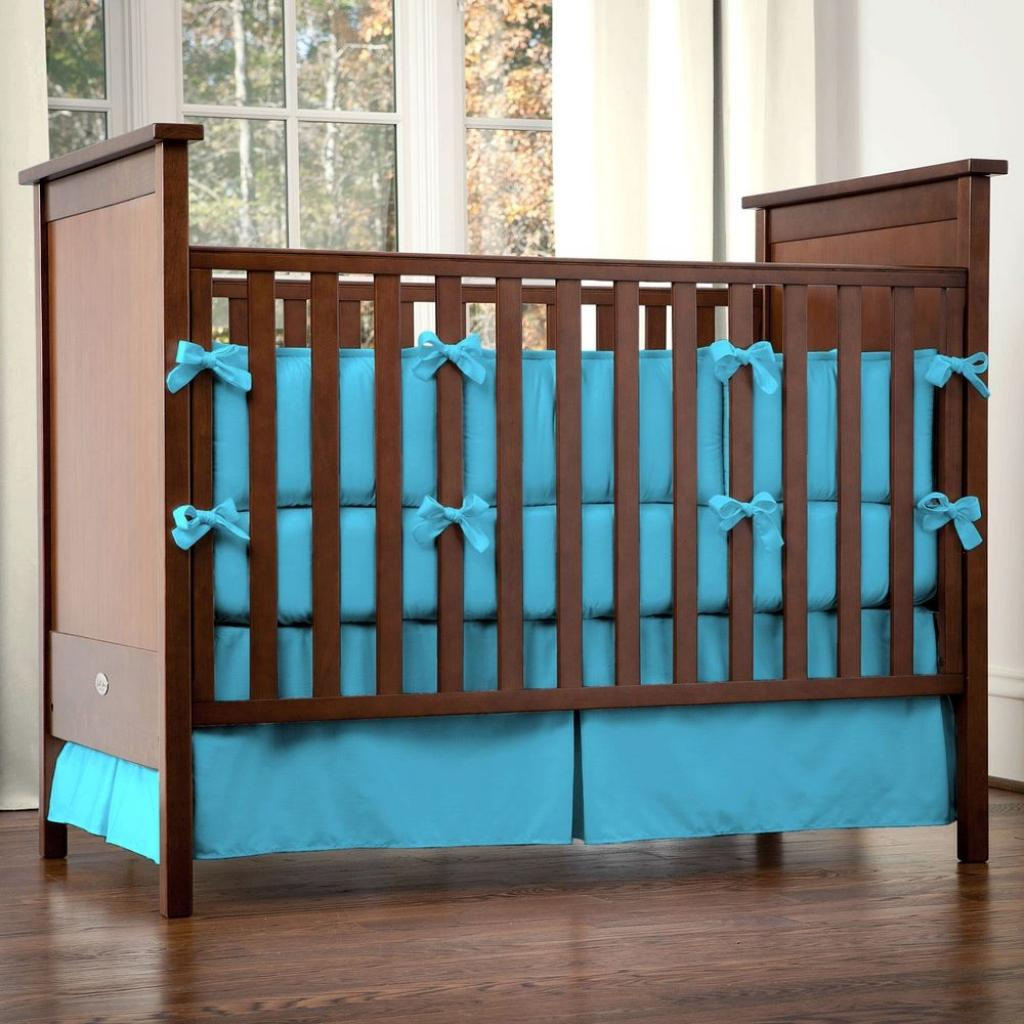 Image of: Solid Color Crib Bedding Separates