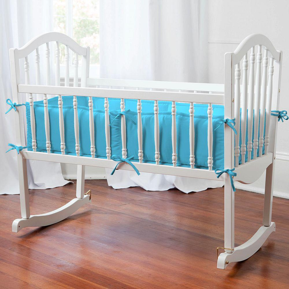 Image of: Solid Color Crib Bedding