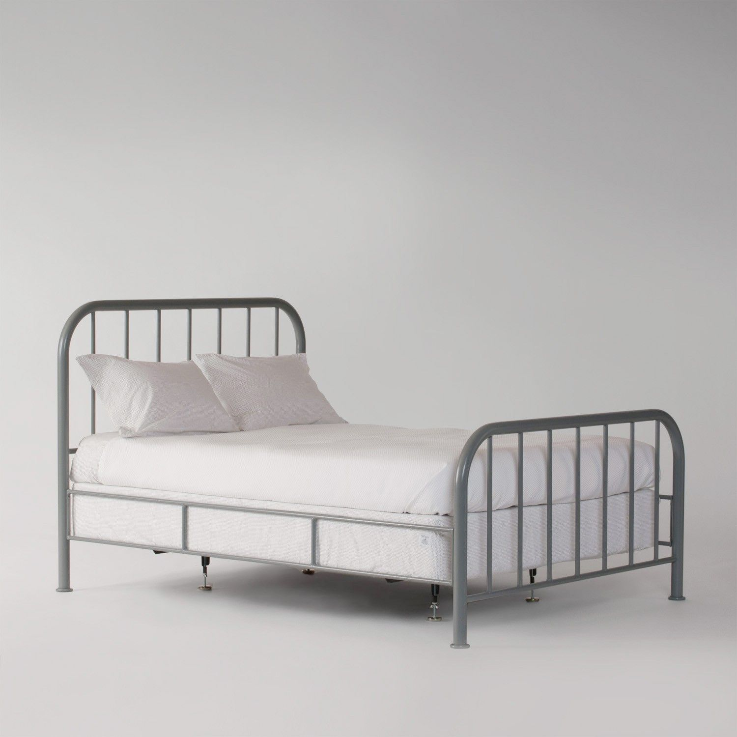 Image of: Steel Bed Frame Twin Xl