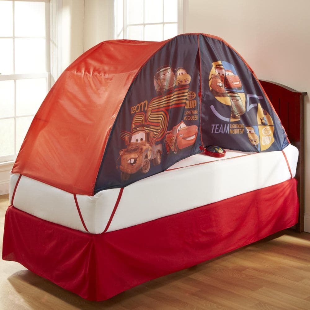 Image of: Toddler Bed Tent Covers
