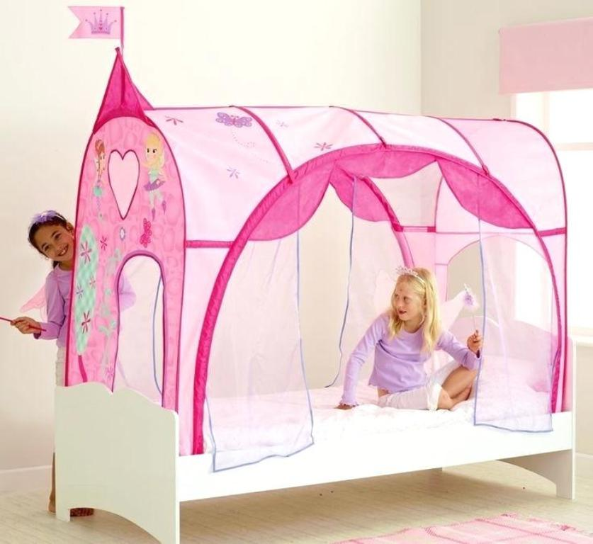 Image of: Toddler Bed Tent Frozen