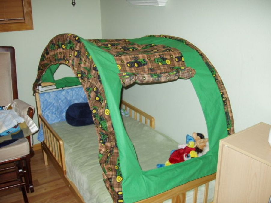 Image of: Toddler Bed Tent Frozens