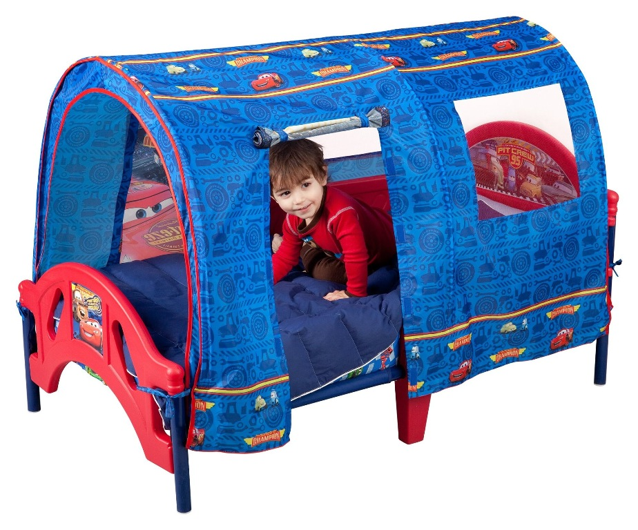 Image of: Toddler Bed Tent Ikea