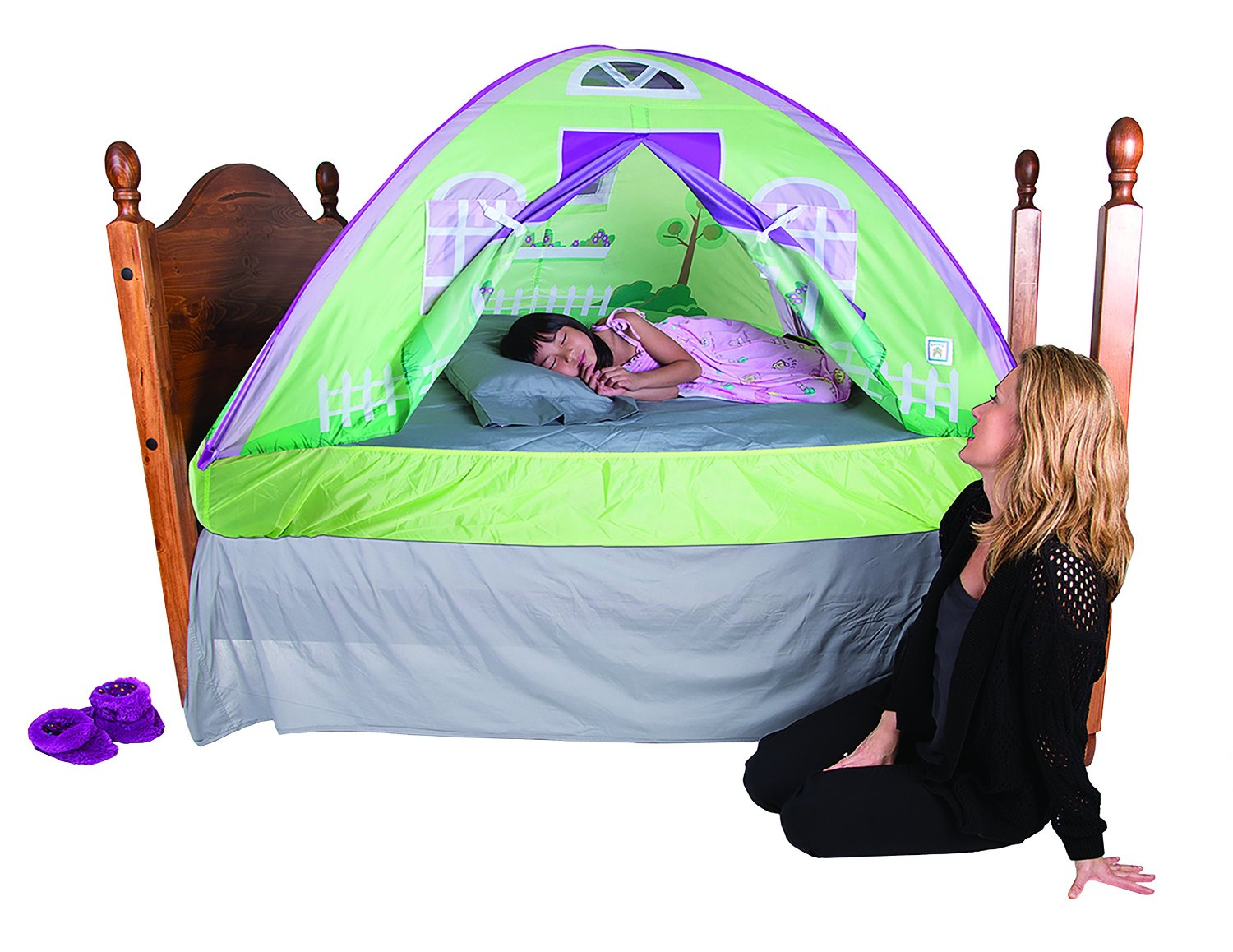 Image of: Toddler Bed Tent Safety