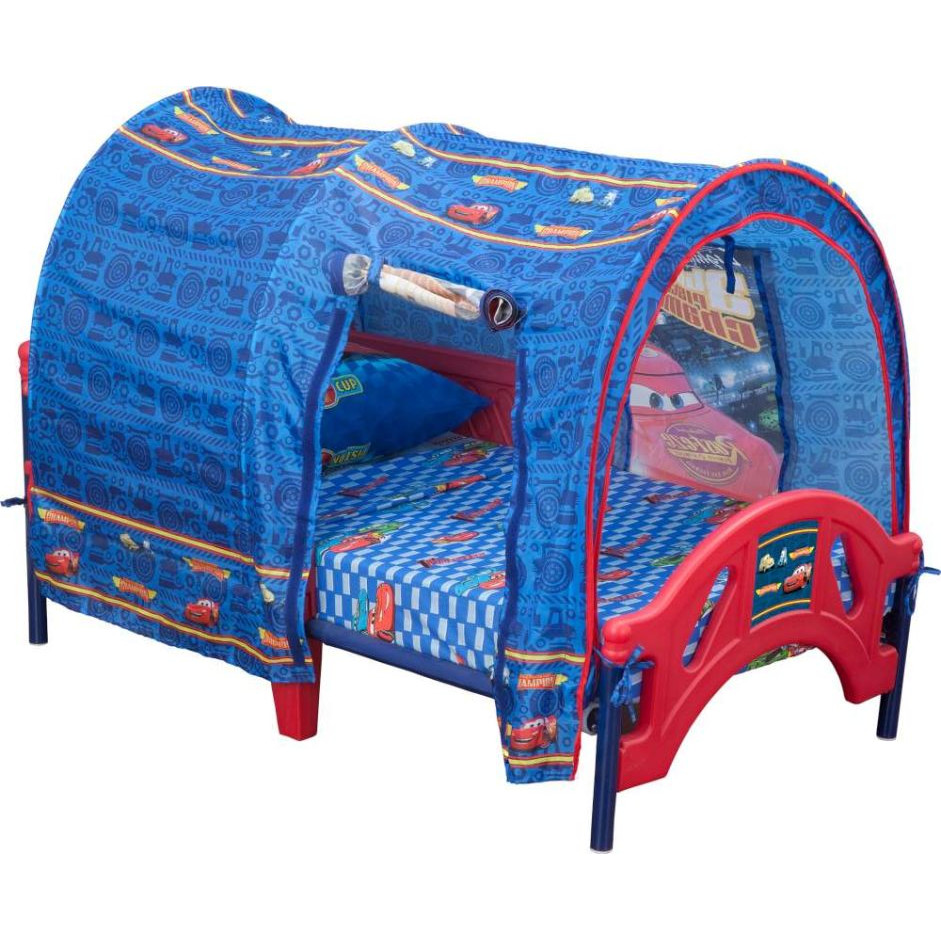 Image of: Toddler Tent Bed Diy