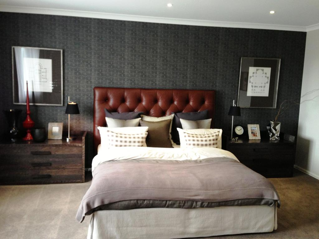 Image of: Traditional Masculine Bedroom Ideas