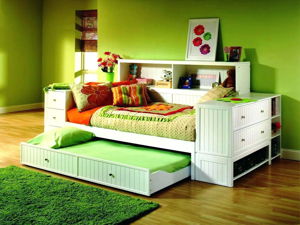 Image of: Trundle Bed For Toddler Bed