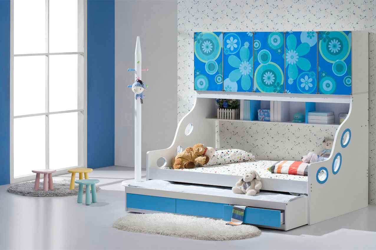 Image of: Trundle Bed Safe For Toddlers
