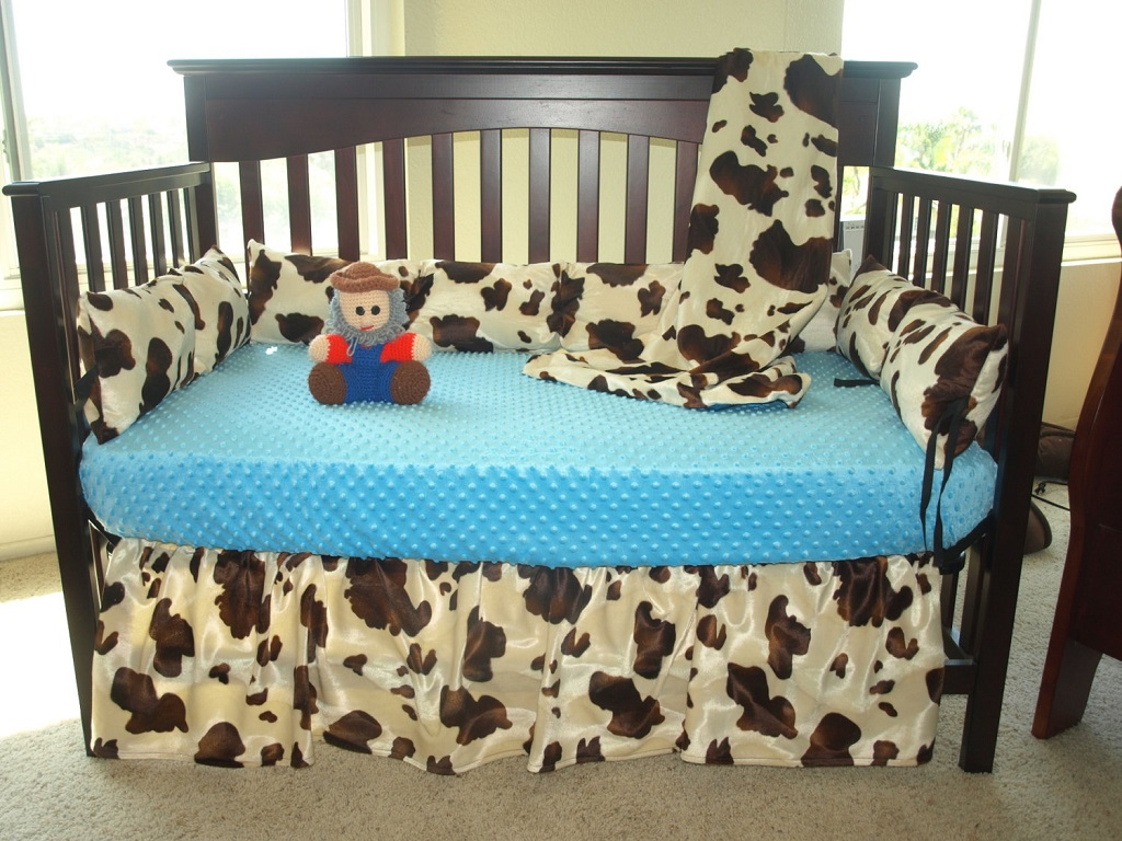 Image of: Western Cowgirl Crib Bedding Sets
