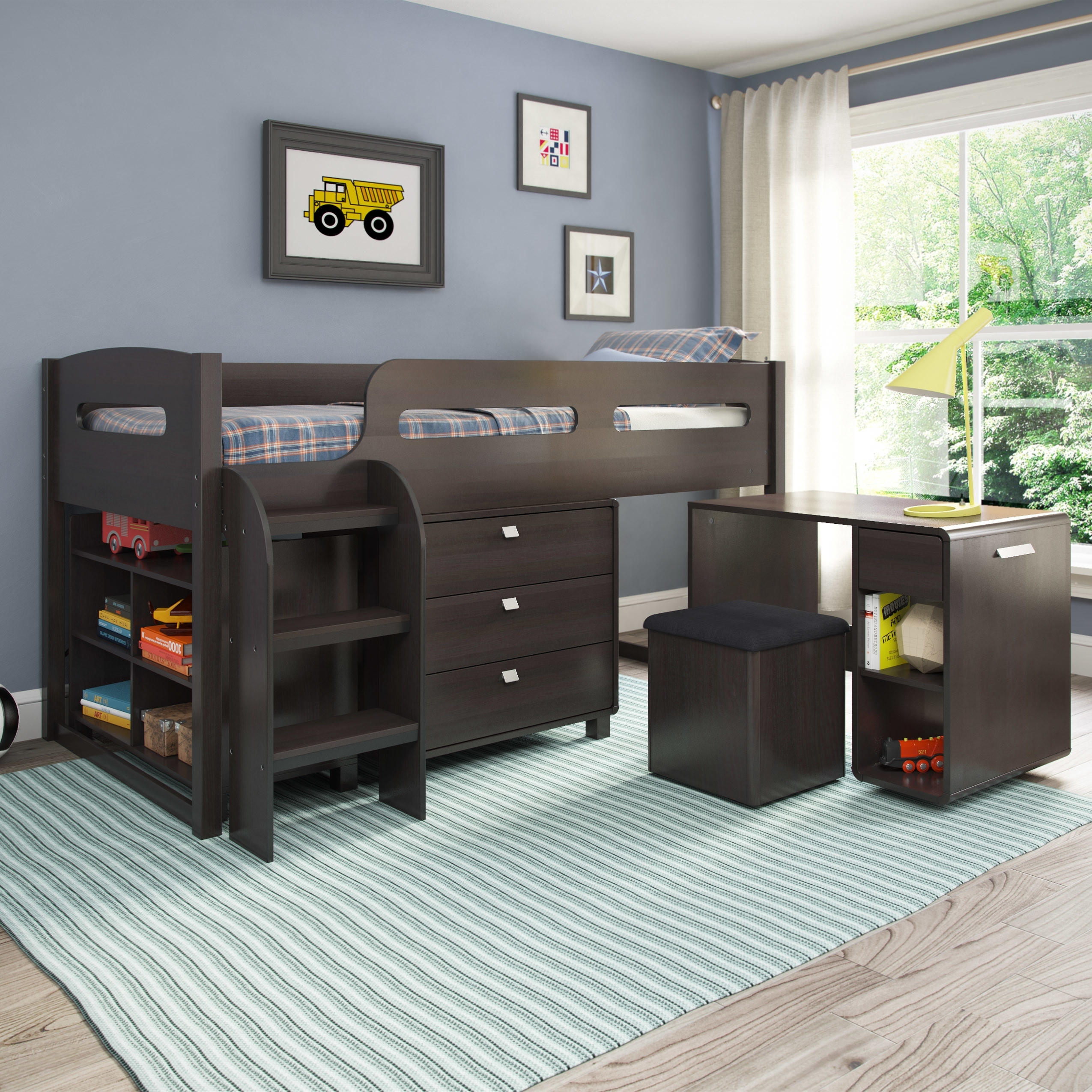 Image of: Bunk Beds For Kids Loft Beds For Kids Together With Twin Over Full