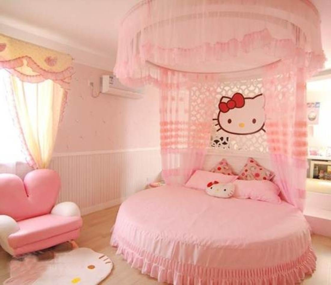 Image of: Cute Hello Kitty Bedroom Furniture Set Dtmba Bedroom Design