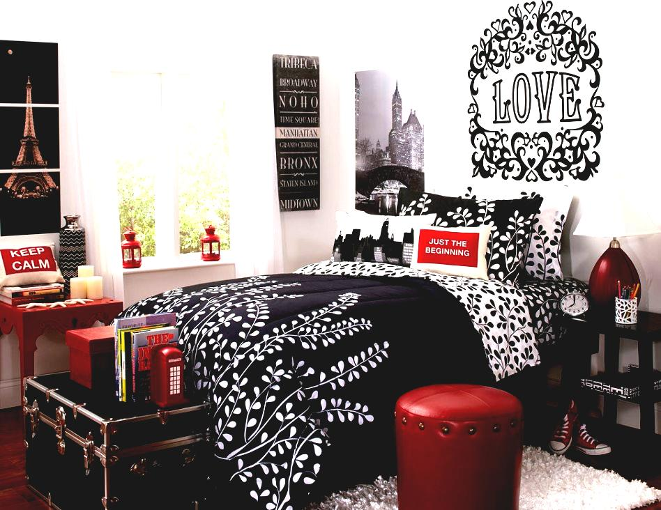 Image of: stylish Paris Themed Bedroom
